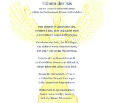 Tränen der Isis
